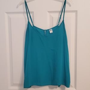 Old Navy | Teal Adjustable Strap Open Back Tank